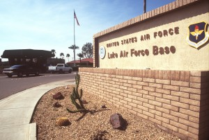 Luke Air Force Base windshield replacement